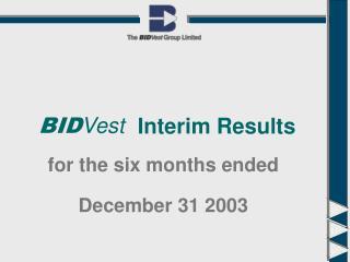 December 31 2003