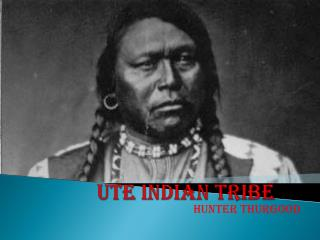 Ute Indian Tribe