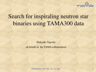 Search for inspiraling neutron star binaries  using TAMA300 data