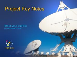 Project Key Notes