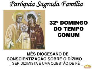Par�quia Sagrada Fam�lia