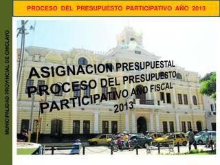 MUNICIPALIDAD PROVINCIAL DE CHICLAYO