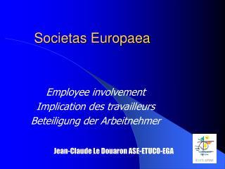 Societas Europaea