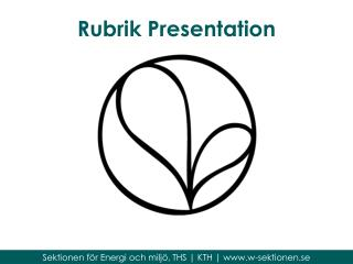 Rubrik Presentation