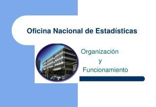 Oficina Nacional de Estadísticas