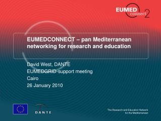 EUMEDCONNECT – pan Mediterranean networking for research and education