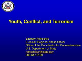 Youth, Conflict, and Terrorism