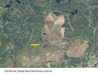 USS  Minntac  Tailings Basin Monitoring Locations