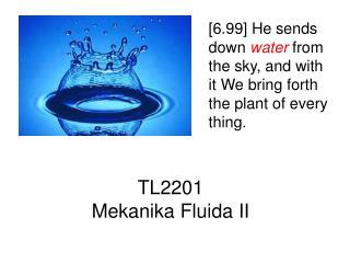 TL2201  Mekanika Fluida II