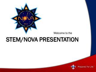STEM/NOVA Presentation