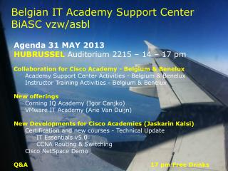 Belgian IT Academy Support Center  BiASC vzw / asbl