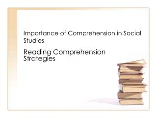 Importance of Comprehension in Social Studies