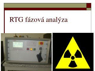 RTG fázová analýza