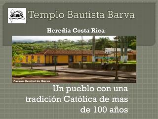Templo Bautista Barva