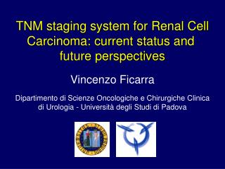 TNM staging system for Renal Cell Carcinoma: current status and  future perspectives