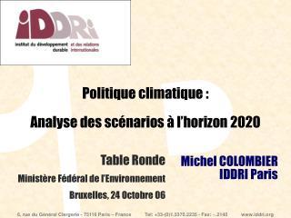 Michel COLOMBIER IDDRI Paris
