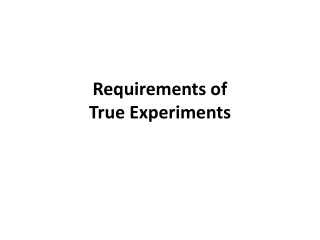 The Two-Group Randomized Experiment