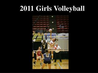 2011 Girls Volleyball