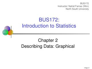 Chapter 2 Describing Data: Graphical