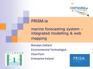 PRISM.ie  marine forecasting system – integrated modelling & web mapping