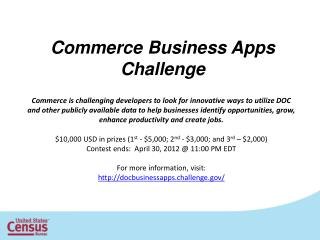 Commerce Business Apps  Challenge