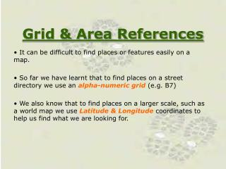 Grid & Area References