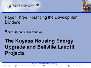Kuyasa: Low cost Housing Energy Upgrade CDM