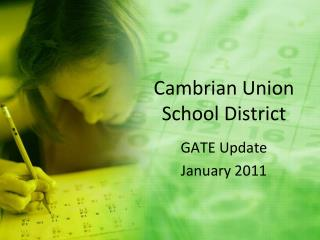 Cambrian Union  School District