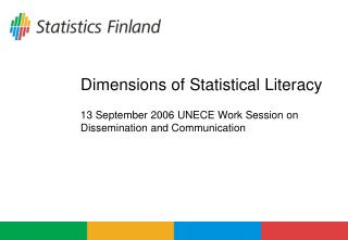 Dimensions of Statistical Literacy