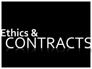Ethics &