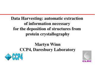 Data Harvesting: automatic extraction  of information necessary