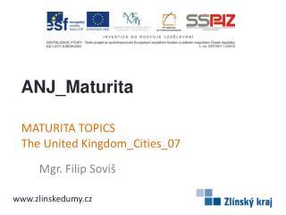 MATURITA TOPICS TheUnitedKingdom_Cities_07