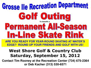 Grosse Ile Recreation Department