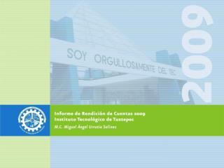 Informe de Rendición de Cuentas 2009