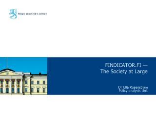 FINDICATOR.FI — The Society at Large