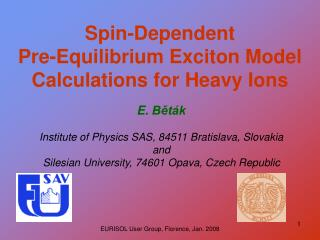 Spin-Dependent  Pre-Equilibrium Exciton Model Calculations for Heavy Ions