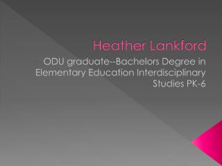Heather Lankford