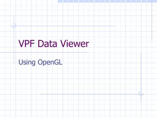 VPF Data Viewer