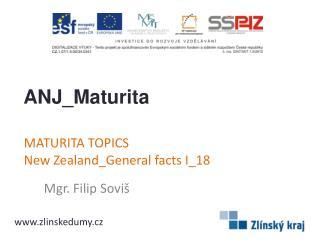 MATURITA TOPICS NewZealand_Generalfacts I _18