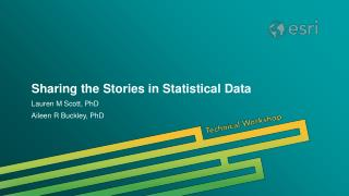 Sharing the Stories in Statistical Data