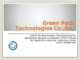 Green Path Technologies  Co.,ltd .