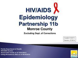 HIV/AIDS Epidemiology Partnership 11b