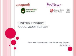 United kingdom  occupancy survey