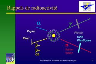Rappels de radioactivité