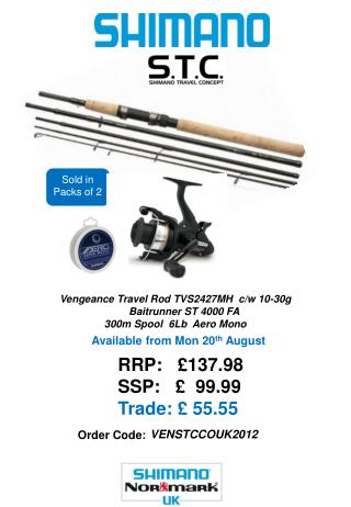 RRP:   £137.98 SSP:   £  99.99 Trade: £ 55.55