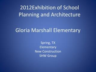 Gloria Marshall Elementary