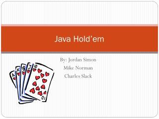 Java  Hold'em