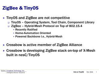 ZigBee & TinyOS