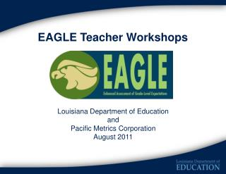 EAGLE Teacher Workshops