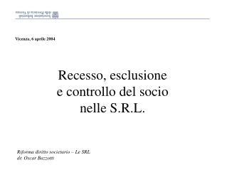 Vicenza, 6 aprile 2004